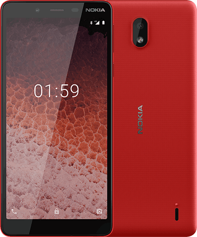 Nokia One Plus Red