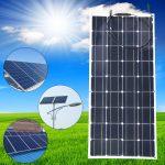 solar panel 100 watts 20v